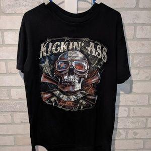 Harley Davidson graphic t shirt, large